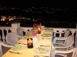 Dinner on the terrace